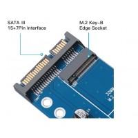 M2 SSD NGFF Naar Sata Adapter 6Gbps