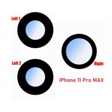 Rear Camera Lens for iPhone 11 Pro 11 Pro MAX set of 3
