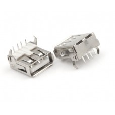 USB female Type A 4 pin connector
