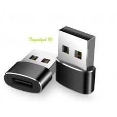 USB-C female to USB 2.0 male Adapter