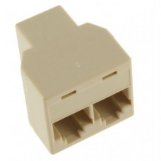 UTP splitter - divide network cable 1 to 2 - set of 2