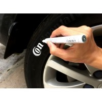 Car tire tread marking pen
