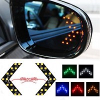 Car mirror LED turn signal set