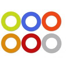 Car Reflective Sticker round