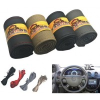 Car steering wheel cover lace