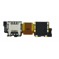 Samsung Galaxy S5 I9600 Sim Card Houder flex kabel
