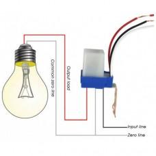 Light switch sensor 12V