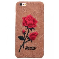 iPhone 7 and 8 Embroidered rose case