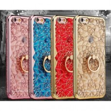 Soft 3D TPU diamond case for iphone 7 and 8