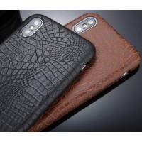 Crocodile skin design case for iPhone X XS