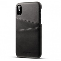 Luxury leather case with card holder for iPhone 7 and 8