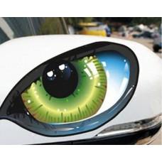 Auto Reflective 3D Cat Eyes set of 2