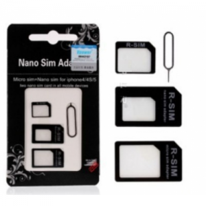 Nano sim adapter 4 in 1