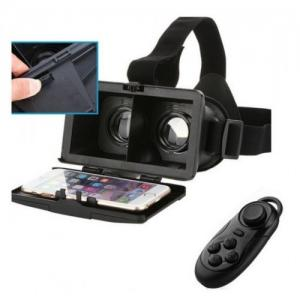 VR Virtual Reality 3D glasses with remote control