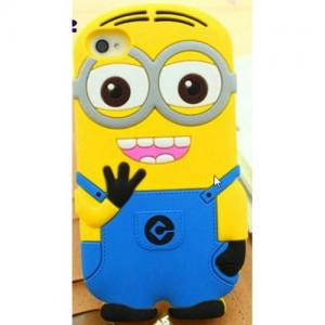 3D minion silicone case for the iphone 6 6S